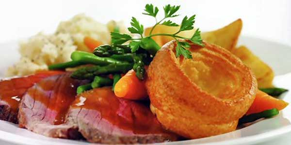 Sunday Roast at The Dove Inn, Corton