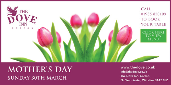 Mother's Day at The Dove Inn, Corton.